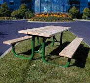 Monster Series Wood Picnic Table