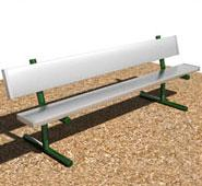 Polywood Park 48inch Backless Bench