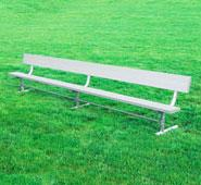 >Aluminum Team Bench