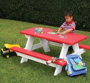 Kid's Outdoor Furniture