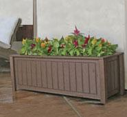 North Hampton Style Planter Box