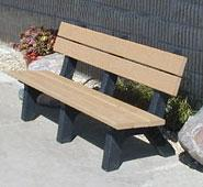 Rock Island Hi-Back Bench