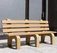 Traditional Hi-Back Bench