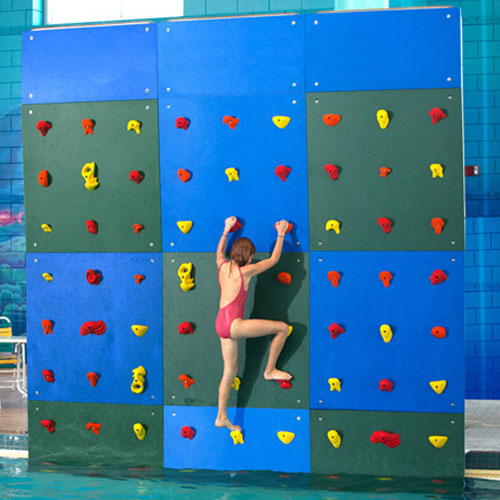 12ft. High Pool Climbing Wall