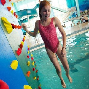 12ft. High Pool Climbing Wall