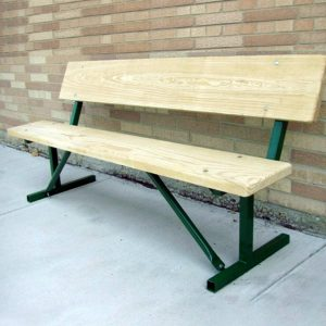 Camelback Series Portable Wood Bench
