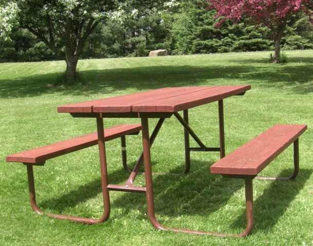 Mini Monster Series Wood Picnic Table