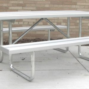 Traditional Aluminum Table