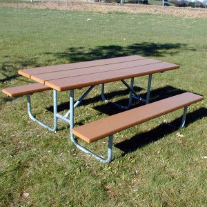 Traditional Recycled Plastic Picnic Table