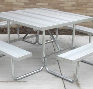 Camelback Series Aluminum Table