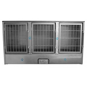 3 Unit Cage Bank For Pets