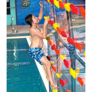 8ft. High Pool Climbing Wall