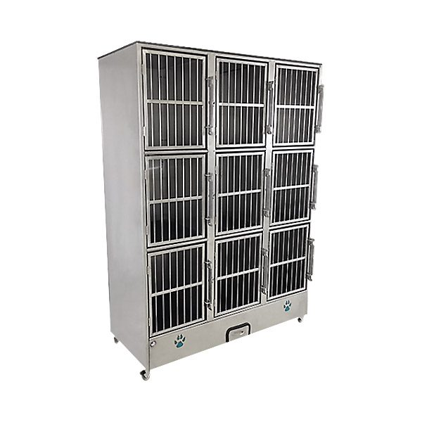 9 Unit Cage Bank