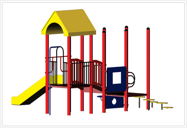 Amy Modular Playground Structure