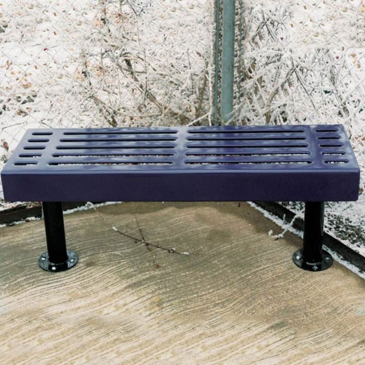 Slatted Style Backless Bench