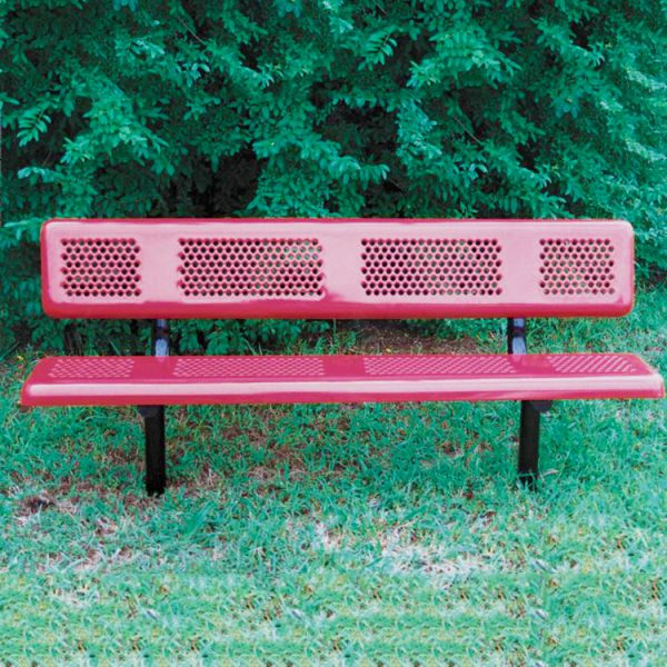 Perforated Style Bench