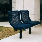 2 Seat Downtown Style Bench