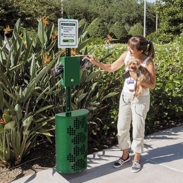 Bark Park Waste Station