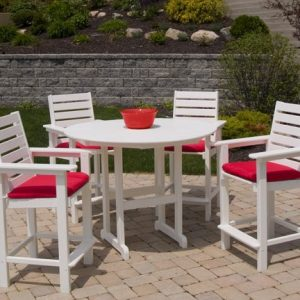POLYWOOD® Captain Counter Chair