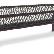 Contour Bench with Back