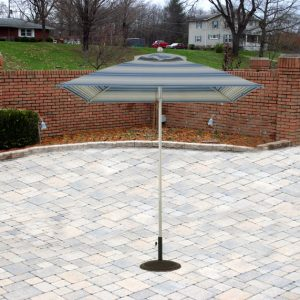 6.5 ft. Aluminum Market Square w/ Rope and Pulley