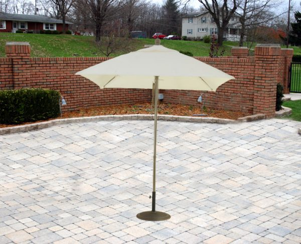 6.5 ft. Aluminum Market Square with Double Pulley