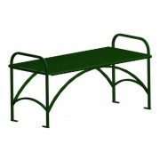 English Series Bench Without Back