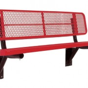 Heavy Duty Thermoplastic Coated Bench