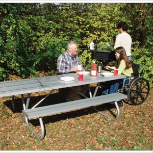 Heavy Duty Wheelchair Accessible Table