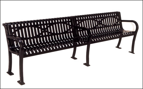 Lexington Bench with Back