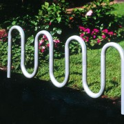 Contemporary Loop Bike Rack