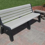 Gray Malibu Bench