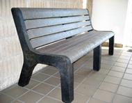 Malibu Hi-Back Bench