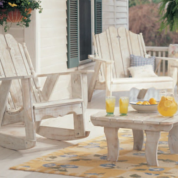 Nantucket Pine Adirondack Rocker