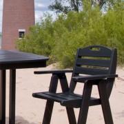 POLYWOOD® Nautical Counter Chair
