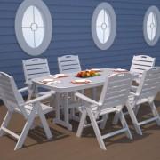 POLYWOOD® Nautical Highback Chair