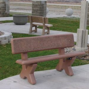 PB-X Series Concrete Bench