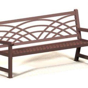 Portable Metal Bench