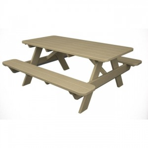 POLYWOOD® Park 6' Picnic Table