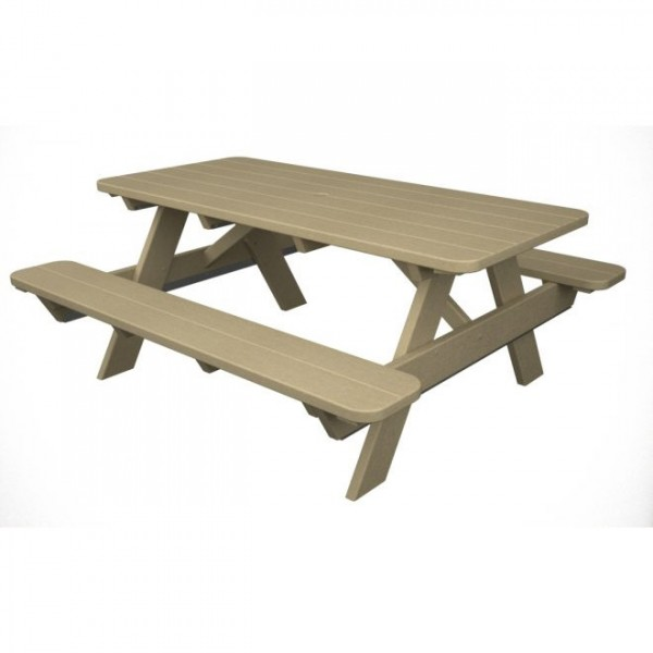 POLYWOOD® Park 6′ Picnic Table