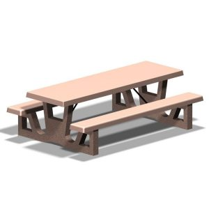 "RT Series 96"" Concrete Table"