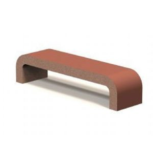 "Royal 72"" Concrete Bench"