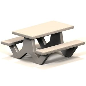 SQT Series Square Concrete Table