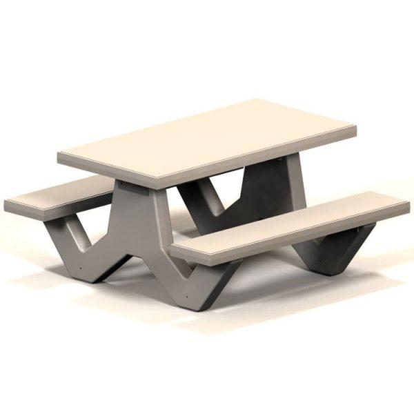 SQT Series Square Concrete Table