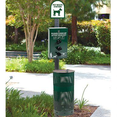 Sentry Dog Waste Stations