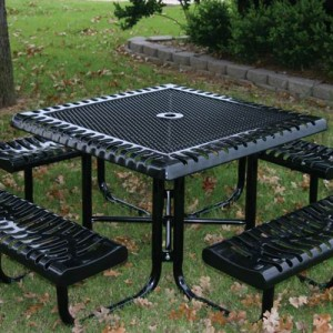 Classic Style Square Picnic Table