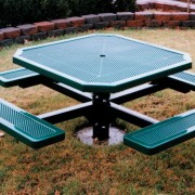 Innovated Style Pedestal Picnic Table