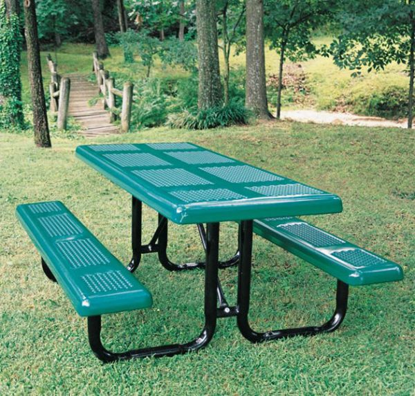 Perforated Style Picnic Table