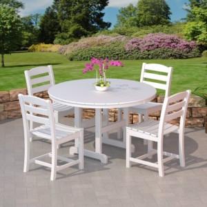 POLYWOOD® La Casa Cafe' Armless Chair