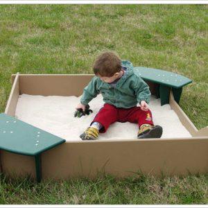 Tot Town Small Sandbox